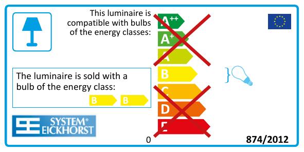 DIALITE X 2/55 (LED 2/24) Arbeitsplatzbeleuchtung - Tageslichtleuchte