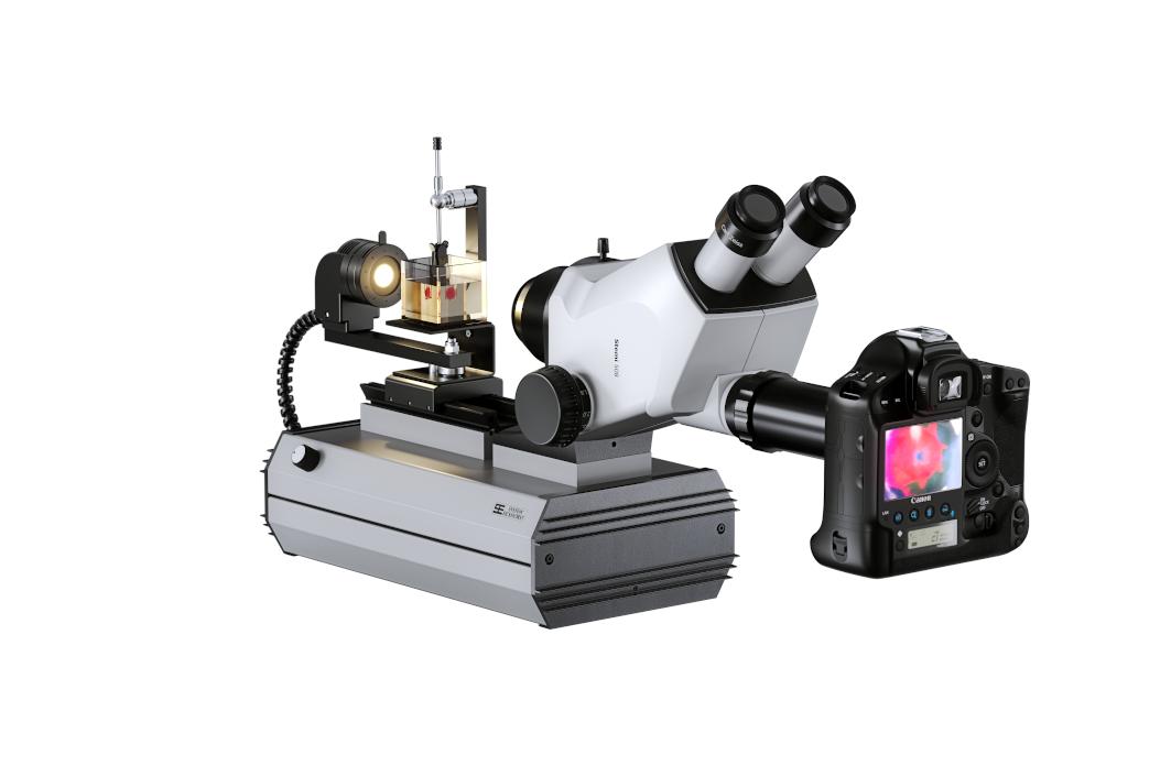 SYNTEST Immersions Mikroskop ZEISS Trinokular