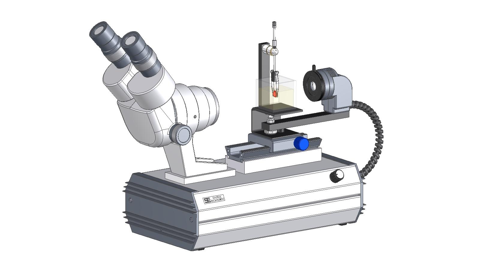 SYNTEST Immersions Mikroskop STARTER Binokular