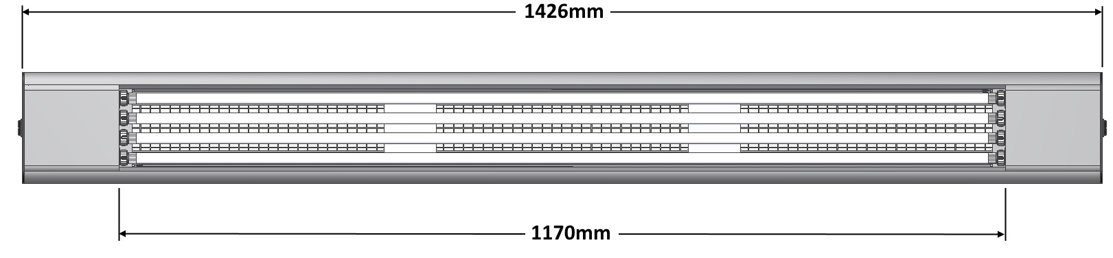 DIALITE XL 4/54 - Arbeitsplatzbeleuchtung - Tageslichtleuchte