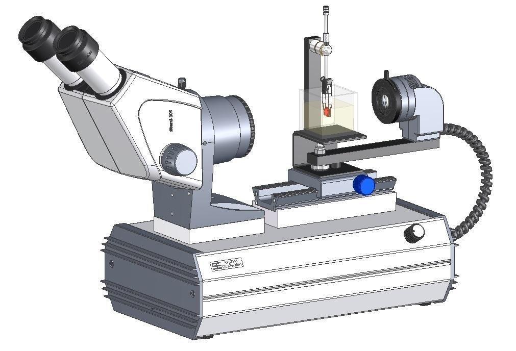 SYNTEST Immersions Mikroskop ZEISS Binokular