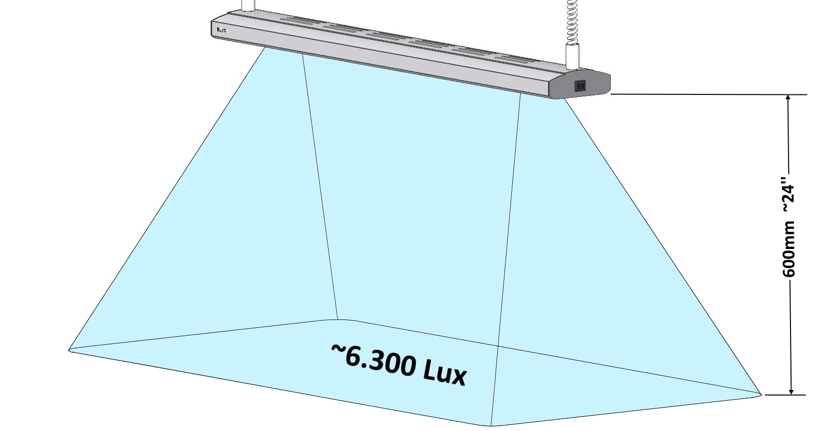 DIALITE X 4/39 - Arbeitsplatzbeleuchtung