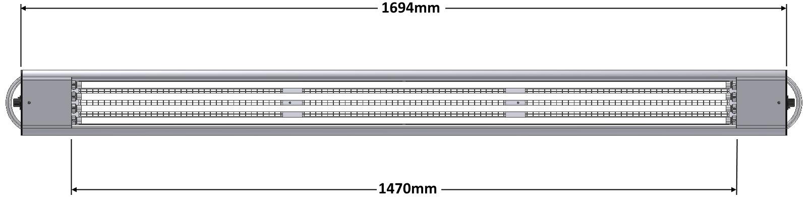 DIALITE XL 4/80 Dim - Arbeitsplatzbeleuchtung - Tageslichtleuchte