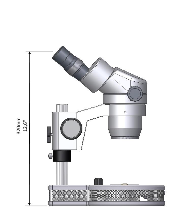 GEMMOSCOPE LED trinokular