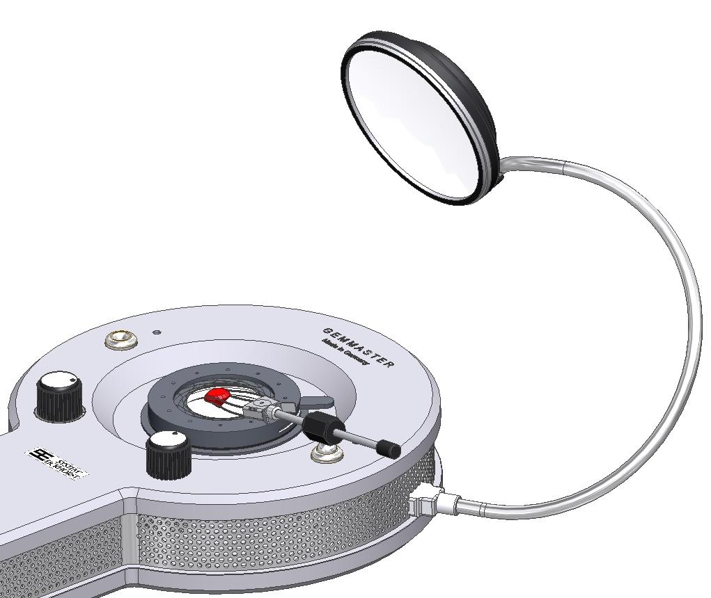 USB - LED Auflicht Leuchte diffus 6.500K Tageslicht