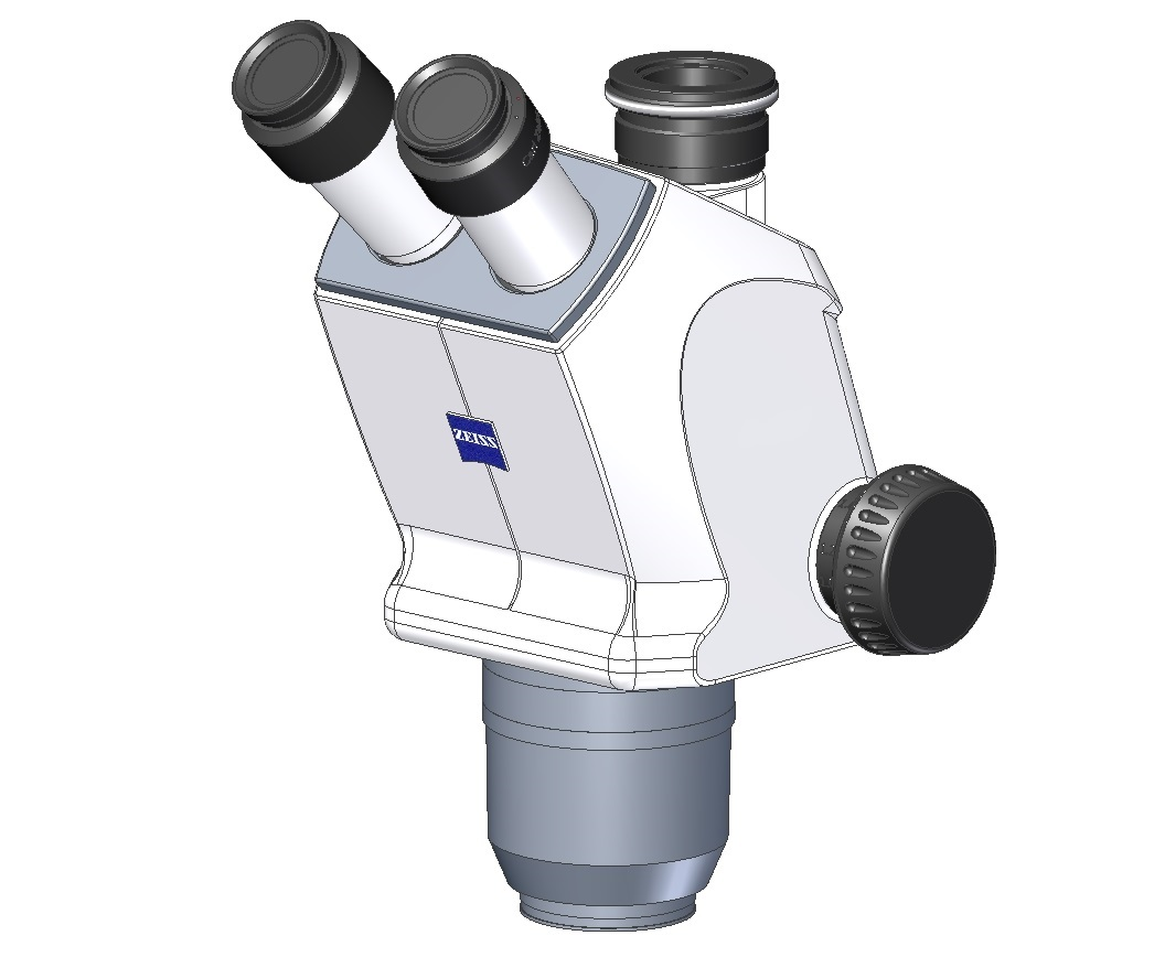 ZEISS Optik trinokular